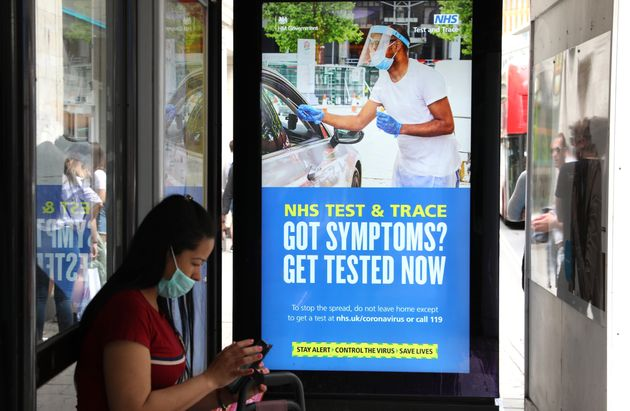 Revealed: Here's Who Is Actually Running NHS Test And Trace