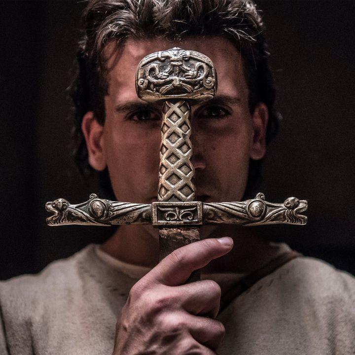 Jaime Lorente, en la serie 'El Cid' (Amazon Prime Video)