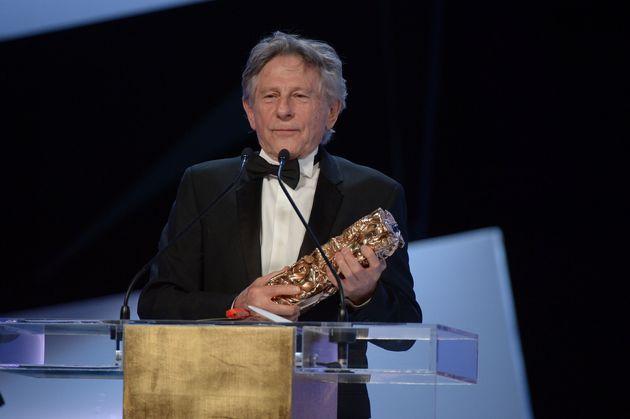 Roman Polanski recevant un César pour