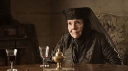 Diana Rigg Once Hilariously Stormed Off The Game Of Thrones