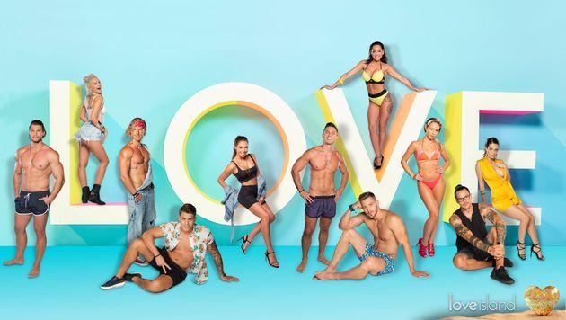 The contestants of Love Island