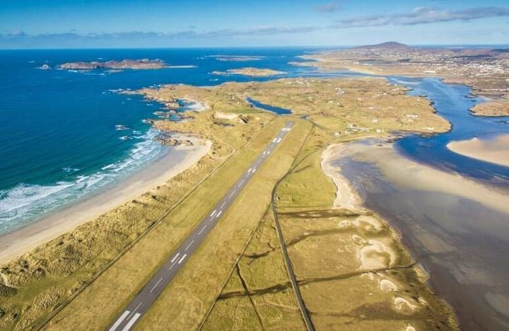 Το αεροδρόμιο Ντόνεγκαλ της Ιρλανδίας.