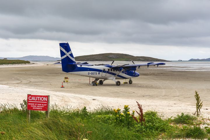 Το αεροδρόμιο Μπάρα στην Σκωτία.