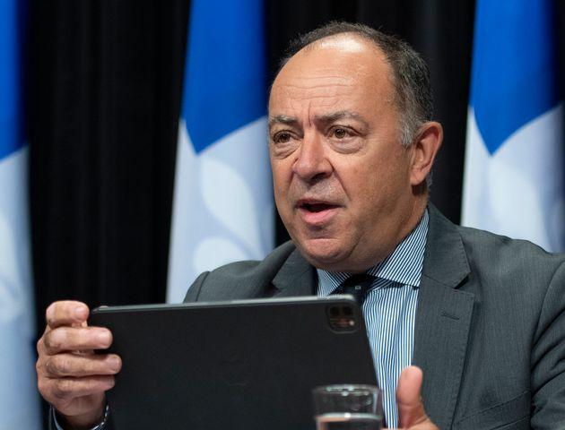Christian Dubé, 17 septembre 2020 (Jacques