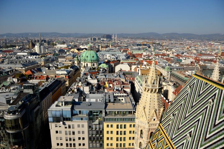 Austria's capital of Vienna is pictured. The country's agriculture minister has issued a correction to President Trump's clai