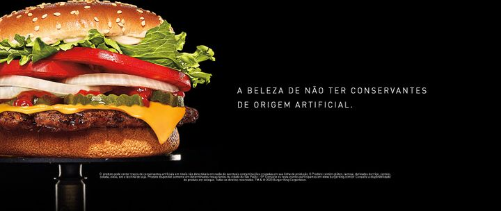 Anuncio do Whooper do Burger King