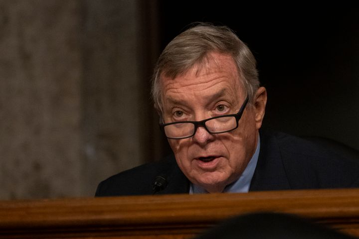 Sen. Dick Durbin (D-Ill.), who is a strong supporter of abortion rights, voted to confirm two anti-choice nominees to lifetim