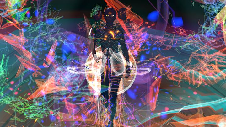 Designer Damara and VR artist Sutu created this out-of-this-world immersive fashion experience