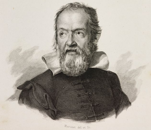 Portrait of Italian astronomer and philosopher Galileo Galilei, whose works were among the stolen books.