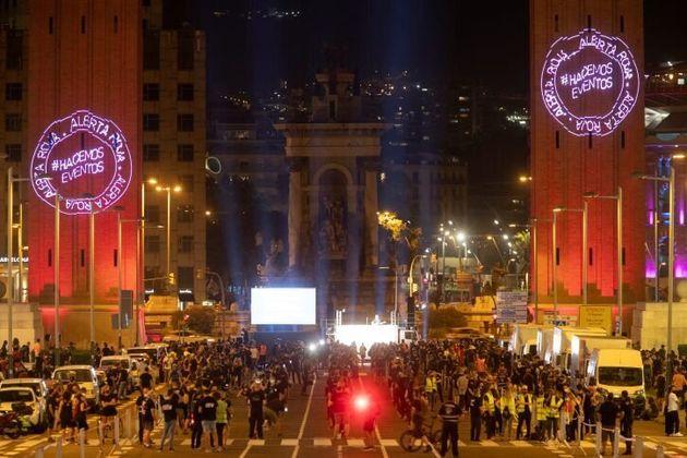 Alerta Roja: manifestantes reivindican medidas frente a la