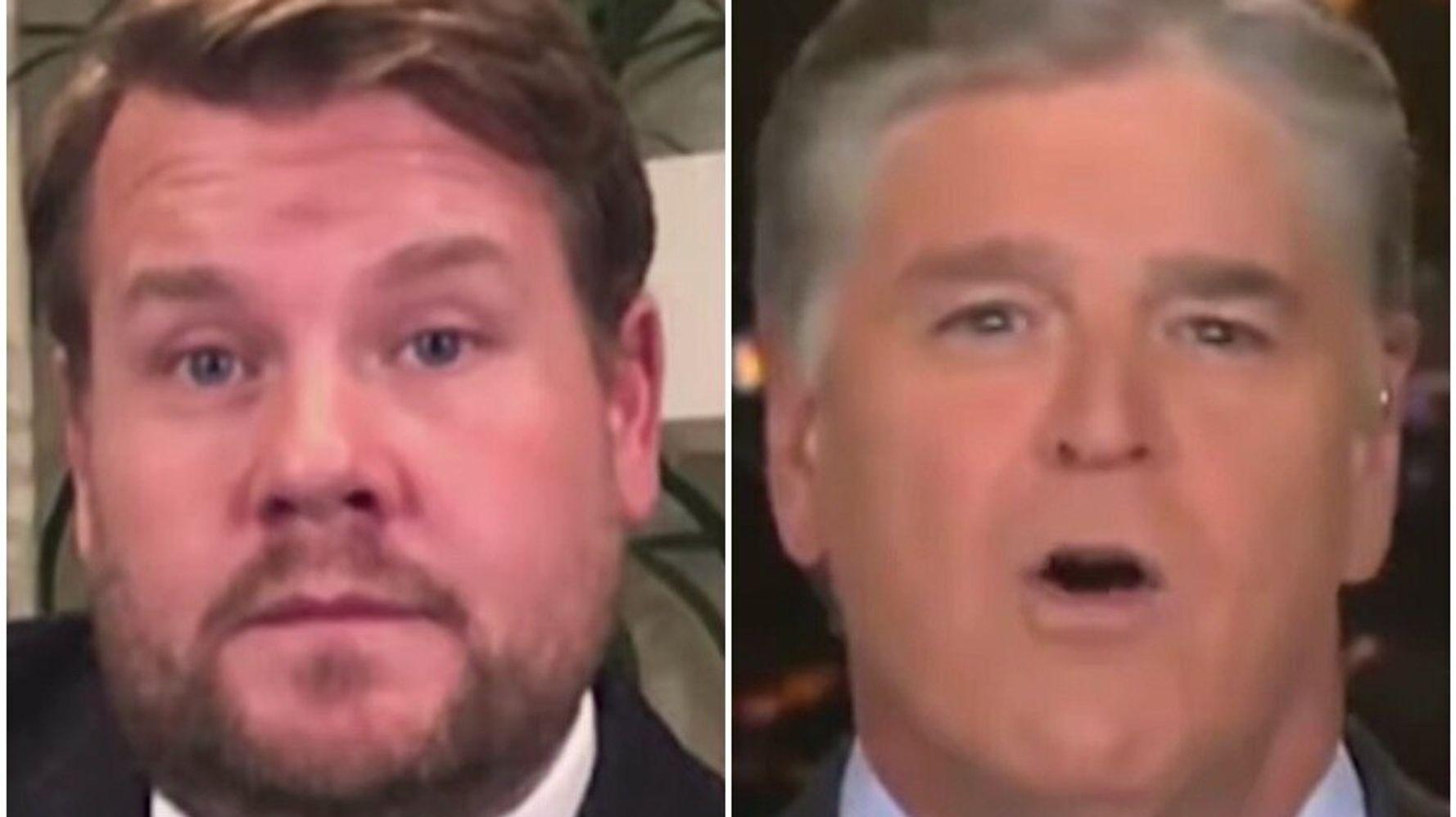 James Corden Mocks Sean Hannity's 'Despacito' Pronunciation