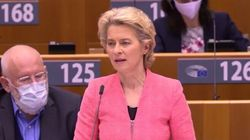 Ursula Von der Leyen zittisce l'eurodeputato di destra che la contesta