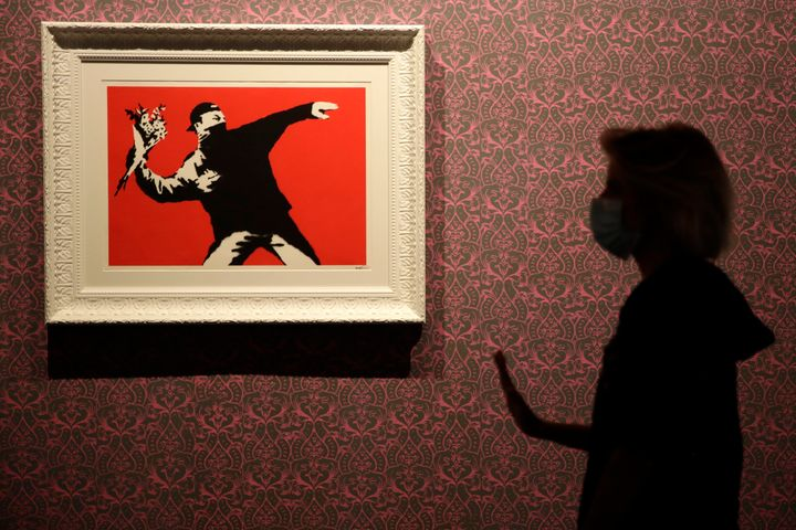 The cancellation division of the EU's intellectual property office said in a ruling this week that Banksy's trade