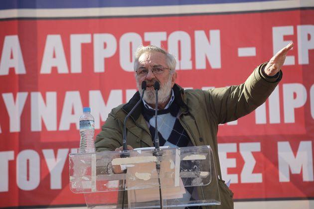Πέθανε ο γνωστός αγροτοσυνδικαλιστής του ΚΚΕ Βαγγέλης