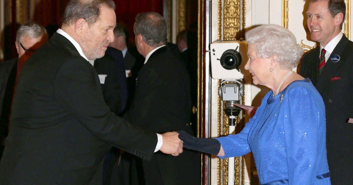 The Queen Strips Harvey Weinstein Of His CBE