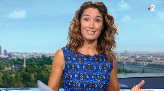 Marie Sophie Laccarau a présenté son dernier JT sur France le jeudi 17