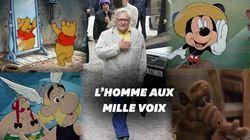 D'Astérix à Mickey, Roger Carel était une voix mythique du doublage
