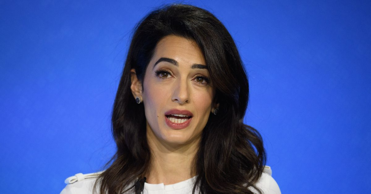 Amal Clooney Resigns As UK Special Envoy Over Government Plans To Break International Law