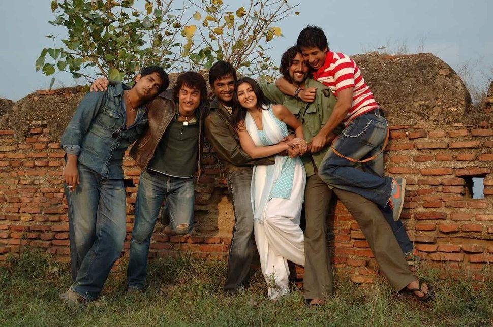 A still from Rakeysh Omprakash Mehra's Rang De Basanti