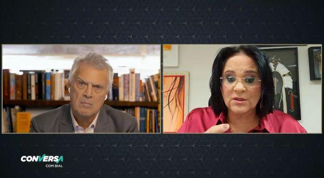 Pedro Bial entrevista a ministra dos Direitos Humanos, Damares
