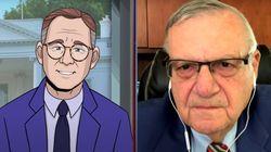 Cartoon Journalist Asks Joe Arpaio If People Will S**t On His