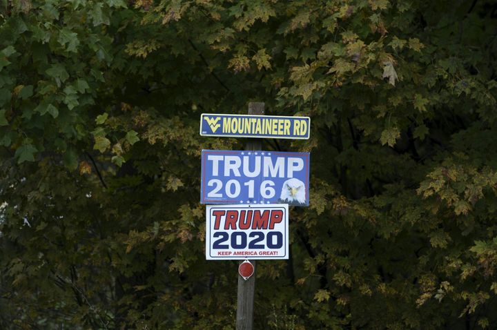 President Donald Trump remains popular in a state he won overwhelmingly in 2016, but in a state where many voters are registe