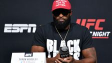 UFC Fighter Tyron Woodley Fits 'Black Lives Matter' Into Every Reply At Press Conference