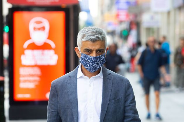 Sadiq Khan: Its Increasingly Likely Additional Lockdown Measures Will Soon Be Needed In London