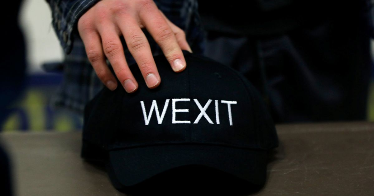 Wexit Party Enters The Danger Zone, Rebrands As Maverick Party