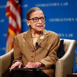 La juge de la Cour Suprême Ruth Bader Ginsburg, icône des anti-Trump, est