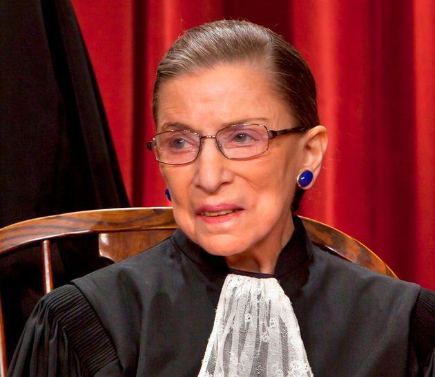 La jueza del Tribunal Supremo de EEUU Ruth Bader Ginsburg en octubre de
