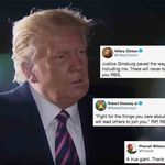De Trump à Clinton, en passant par Pharell et Iron Man, l'Amérique rend hommage à