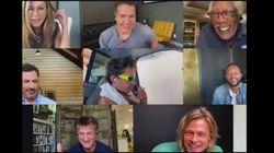 Hay un detalle del reencuentro de Brad Pitt y Jennifer Aniston que está dando mucho juego: está en la