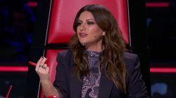 """""""No me tomen el pelo"""": Laura Pausini se desespera al intentar entender el nombre un"""