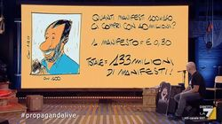 I Con 49 milioni quanti manifesti elettorali ha comprato Salvini? I calcoli del genio