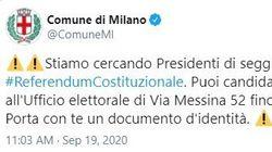 Cento rinunce, Comune Milano cerca presidenti seggio per il