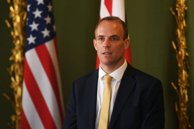 Dominic Raab's Bodyguard Taken Off Duty After Leaving His Gun On A Plane