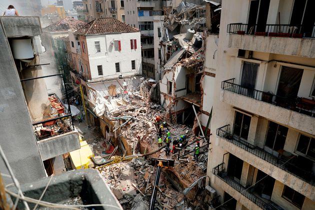 L'explosion du port de Beyrouth, le 4 août dernier, a causé des dégâts colossaux...