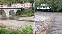 Des crues soudaines dans le Gard après des pluies