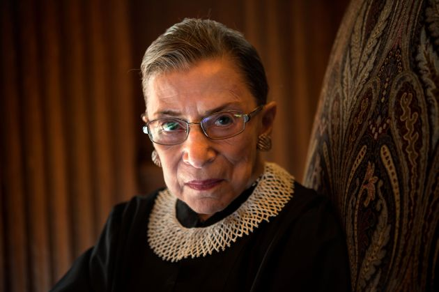 WASHINGTON, DC - AUGUST 30: Supreme Court Justice Ruth Bader Ginsburg, celebrating her 20th anniversary...