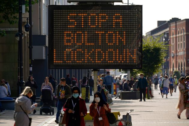 Holidaymaker Who Went On Pub Crawl Blamed For Bolton's Coronavirus Spike