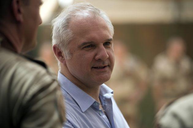 Gilles Huberson alors qu'il était ambassadeur de France au Mali, en juin