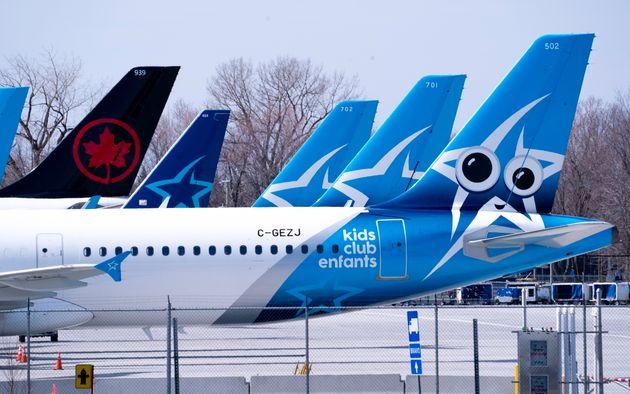 Air Canada et WestJet ont annulé au moins 439 vols jusqu'à présent ce mois-ci,...