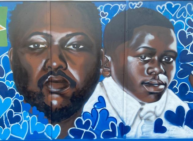 Kevin Clarke: London Mural Unveiled Commemorating Black Man Who Died In Police Custody