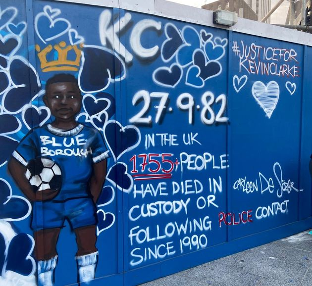 Kevin Clarke: London Mural Unveiled Commemorating Black Man Who Died In Police
