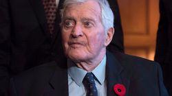 L'ancien premier ministre du Canada John Turner s'est