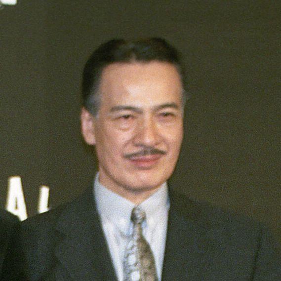 藤木孝さん=2003年撮影