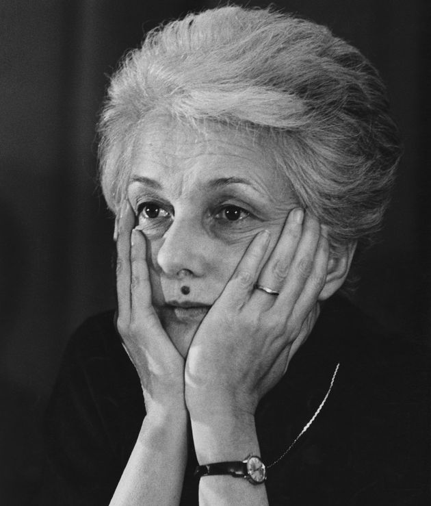 Rossana Rossanda, 13th February 1982. (Photo by Alberto Roveri/Mondadori via Getty