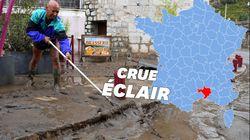 Après les inondations dans le Gard, Anduze se réveille dans la