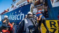 Le bateau de sauvetage de migrants de MSF Sea Watch immobilisé par